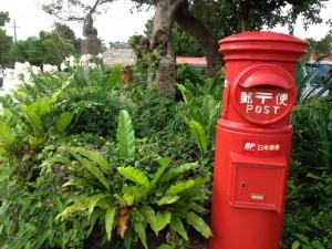 竹富島のポスト