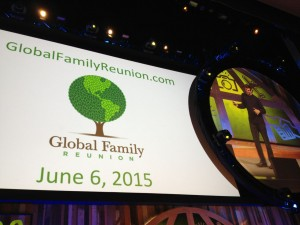 Global Family Reunion #WDS2014